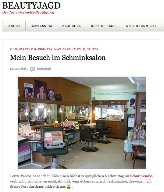 BEAUTYJAGD Blogbeitrag über Salon Zwei